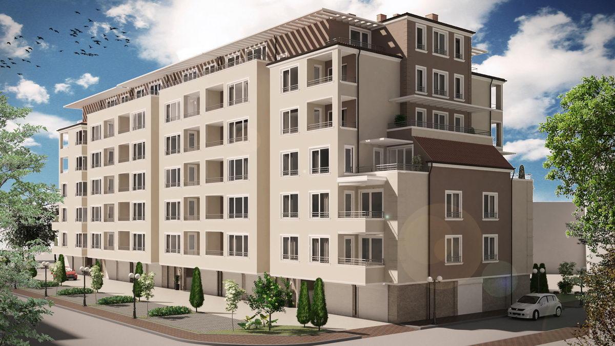 Довършителни дейности в новата сграда на Емострой – Рай 3